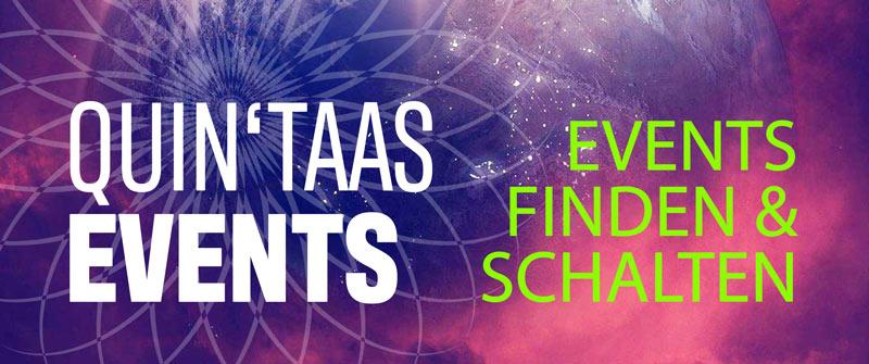 Der QUIN'TAAS Event-Kalender